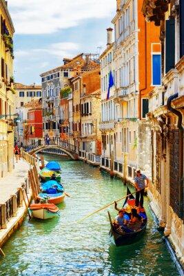 Papiers peints Touristes, voyage, gondole, Rio, Marin, canal, Venise, Italie