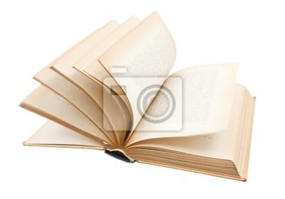 Tourner les pages du livre ancien