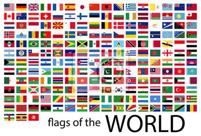 Papiers peints tous les drapeaux du monde