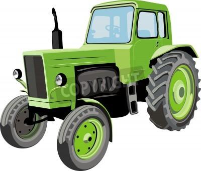 Papiers peints Tracteur agricole