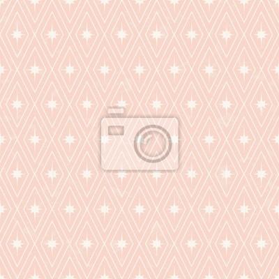 Transparente Pale Motif Geometrique Rose Papier Peint Papiers