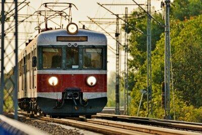 Papiers peints transport ferroviaire