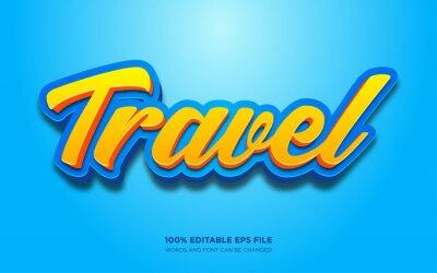 Papiers peints Travel text style effect