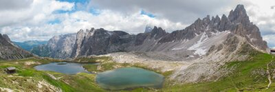 Papiers peints Trekking dans le Parc National Tre Cime, Dolomites