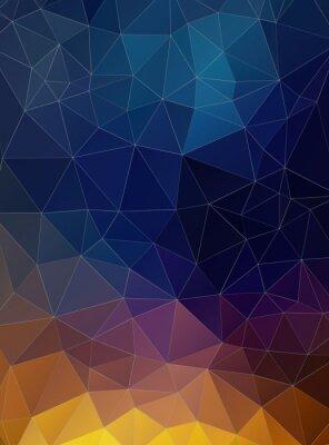 Papiers peints Triangle plat fond coloré géométrique