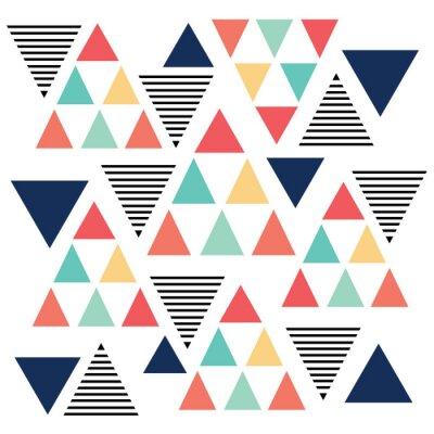 Papiers peints Triangle variation de couleur de motif