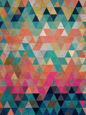 Papiers peints Triangles colorés avec des anciens de fond style