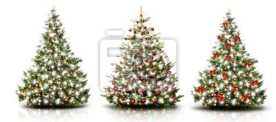 Trois arbres de noel