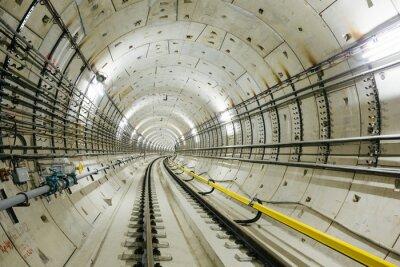 Papiers peints tunnel de métro