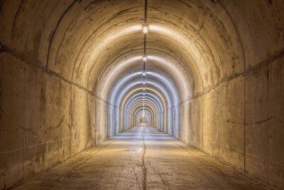 Papiers peints Tunnel sans fin