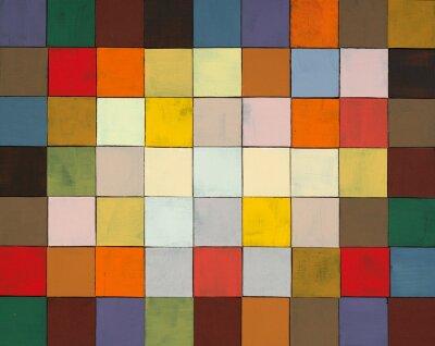 Papiers peints un collage abstrait peint