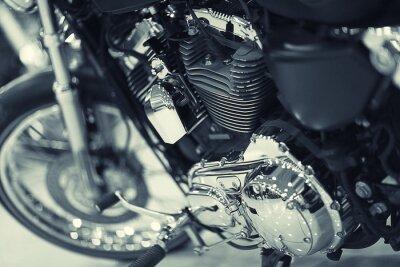 Papiers peints un fragment de moto
