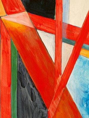 Papiers peints une peinture abstraite