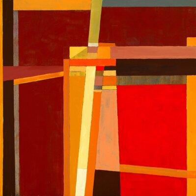 Papiers peints une peinture abstraite moderniste