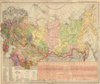 Papiers peints Union Soviétique, URSS, carte