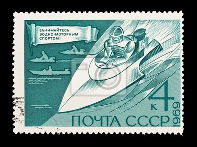 URSS, montre Vodno-sport automobile, circa 1969