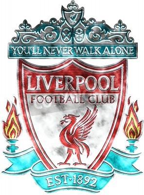 Papiers peints Used badge of FC Liverpool