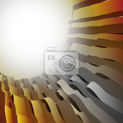 vague abstrait gris ombragé ronde modèle de carte postale de l'espace