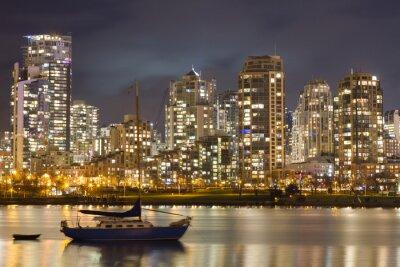 Papiers peints Vancouver, Skyline, voilier