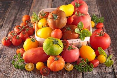 Papiers peints Variété de tomates