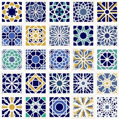 Papiers peints Vecteur, ensemble, géométrique, dessins