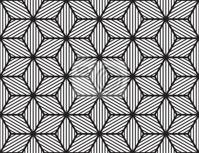 Vecteur, géométrique, seamless, net, cubique, modèle, fond.