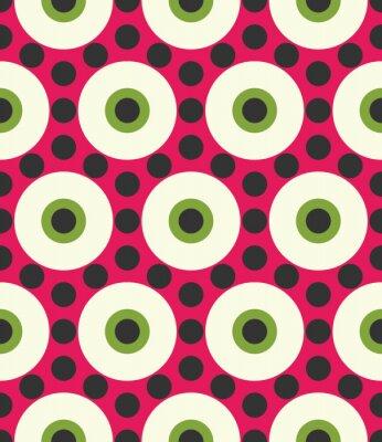 Papiers peints Vecteur moderne, seamless, coloré, géométrie, cercle, modèle, couleur, résumé, géométrique, fond, oreiller, multicolore,