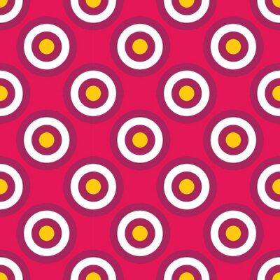 Papiers peints Vecteur moderne, seamless, coloré, géométrie, cercles, modèle, couleur résumé, géométrique, fond, oreiller, multicolore,