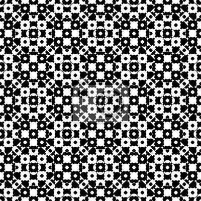 Vecteur Monochrome Seamless Texture Noir Blanc Speculaire