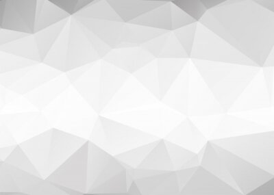 Papiers peints Vector abstract gray triangles background