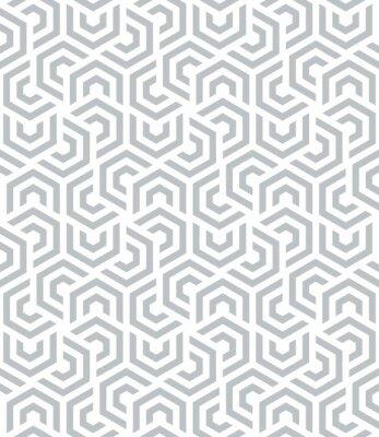 Papiers peints Vector modèle sans soudure. Fond géométrique moderne. Répétition d'hexagones.