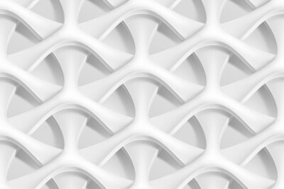 Papiers peints Vector seamless abstract geometric 3d wave pattern