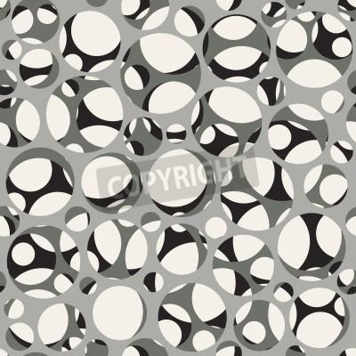 Papiers peints Vector seamless pattern. Moderne texture 3d élégante de maille.