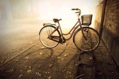 Papiers peints Vélo en automne