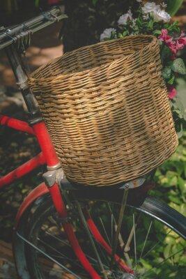 Papiers peints Vélo vintage avec panier