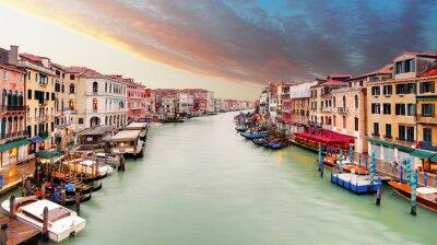 Papiers peints Venise - Grand canal du pont du Rialto