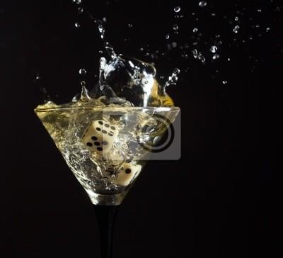 verre à martini.