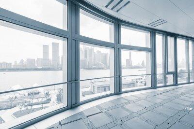 Papiers peints Vide, bureau, salle, moderne, office, bâtiments