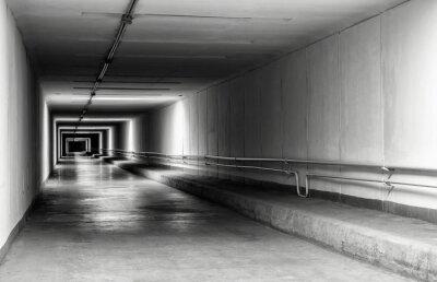 Papiers peints Vide, tunnel, nuit
