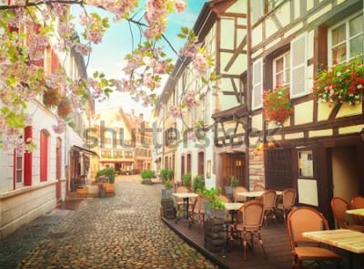 Papiers peints vieille ville de strasbourg, france