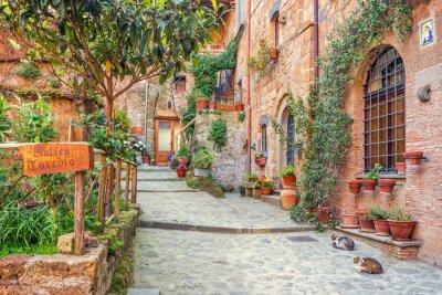Papiers peints Vieille ville Toscane Italie