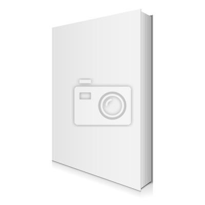 Papiers Peints Vierge Couverture De Livre Blanc Illustration Vectorielle
