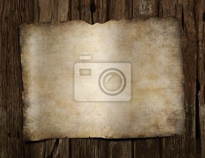 Vierge pirates trésor carte vieux bois bureau papier peint