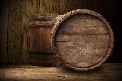 Papiers peints Vieux, bois, baril