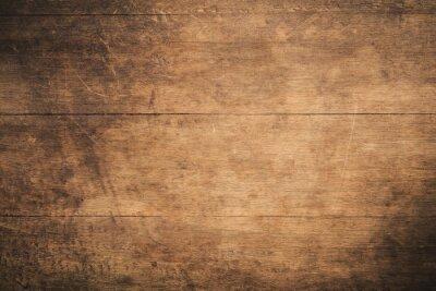 Papiers peints Vieux fond de bois texturé sombre grunge, la surface de la texture du bois brun ancien, lambris en bois de teck vue de dessus