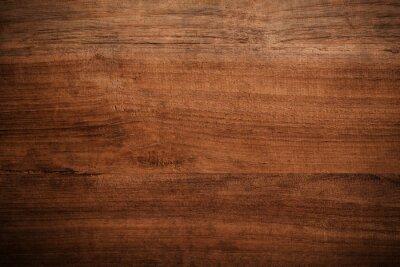 Papiers peints Vieux grunge sombre texture de fond en bois, La surface de l'ancienne texture du bois brun