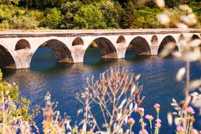 Papiers peints Vieux, pont, Lac
