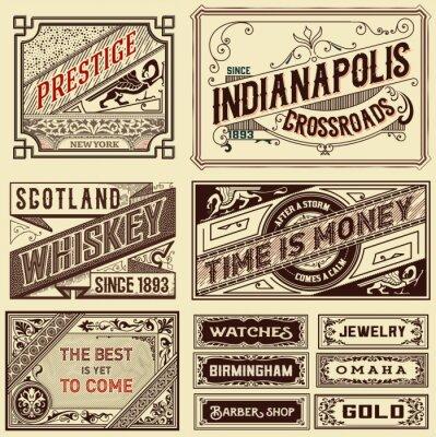 Papiers peints Vieux, publicité, dessins, -, vendange, Illustration