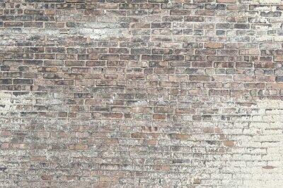 Papiers peints Vieux, rouge, brique, mur, blanc, peinture, fond, texture