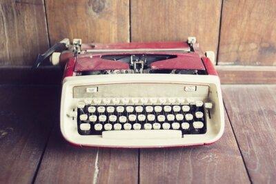 Papiers peints Vieux, style, machine à écrire, bois, plancher